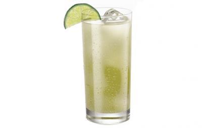 Gin Rickey kokteilis