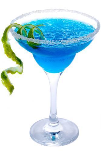 Blue Frozen Margarita kokteilis